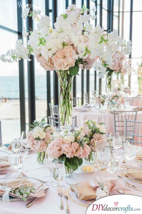 Elegant Atmosphere - Simple Wedding Table Decorations