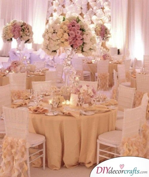 Dreamy Delight - Lovely Wedding Table Decoration Ideas