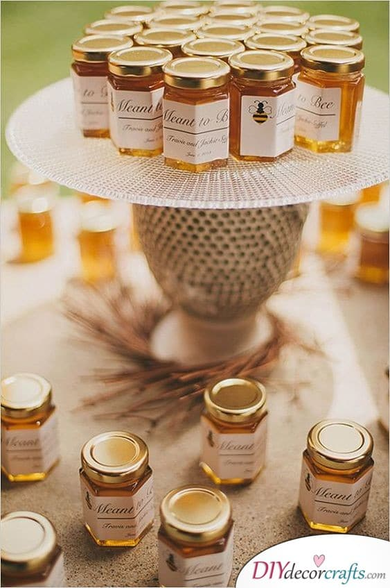 Sweeter than Honey - Great Wedding Thank You Gift Ideas