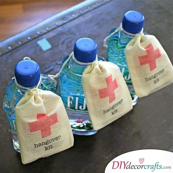 Hangover Kits - A Reminder for the Next Day