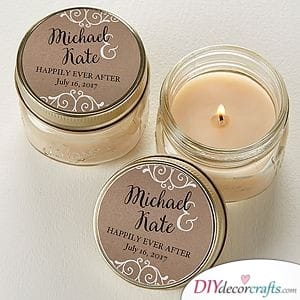 Creative Candles - A DIY Wedding Gift for Guests