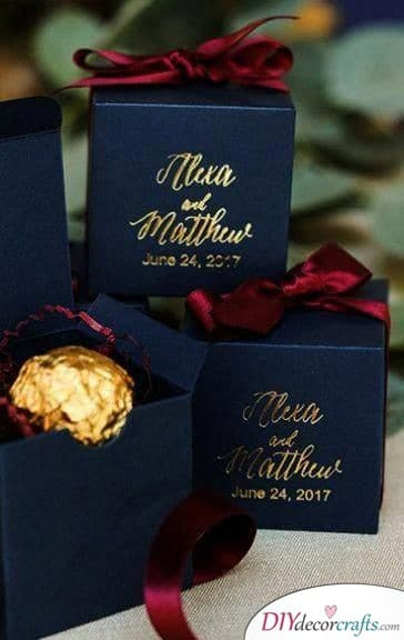 A Classic Bonbon - Simple Wedding Thank You Gifts