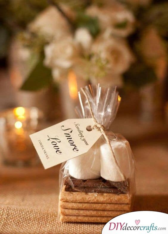 Sweets Wrapped Elegantly - A Small and Simple Thank You Gift