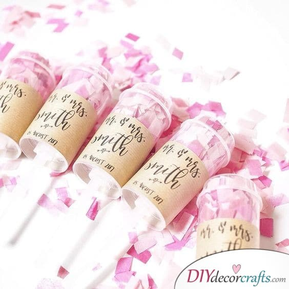 Confetti Bombs for Guests - Bring Fun and Liveliness to your Wedding