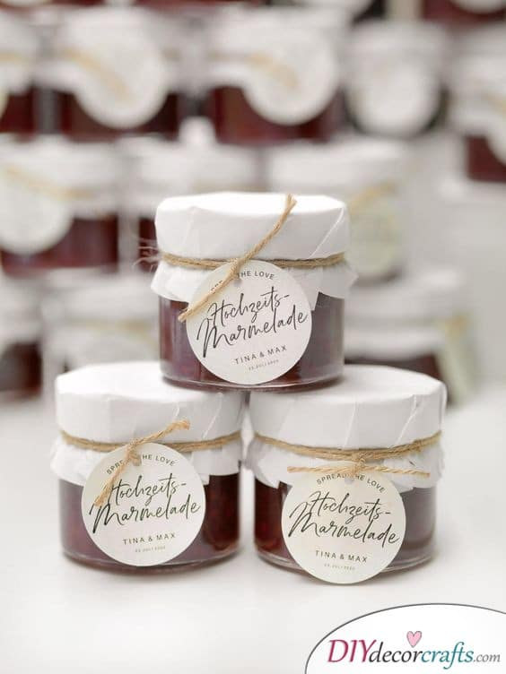 Jam Made with Love - Wedding Gifts for Guests