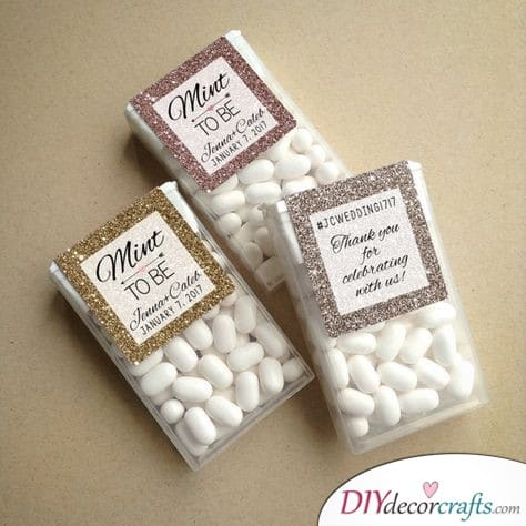 Tic Tac Surprise - Cute Wedding Thank You Gifts