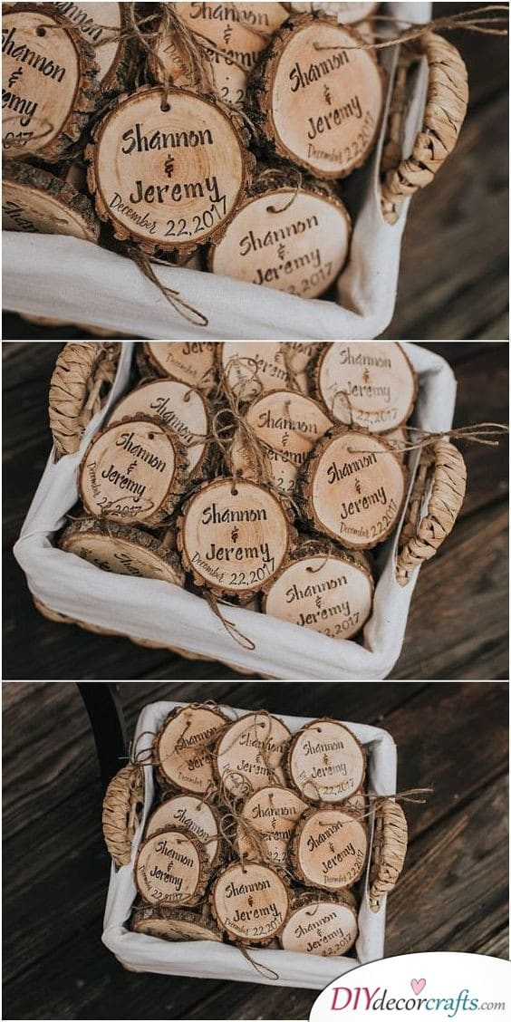 Wooden Ornaments - Natural and Organic Material