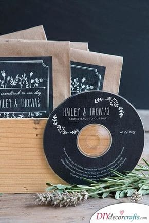 Make Your Own Playlist - Wedding Thank You Gifts