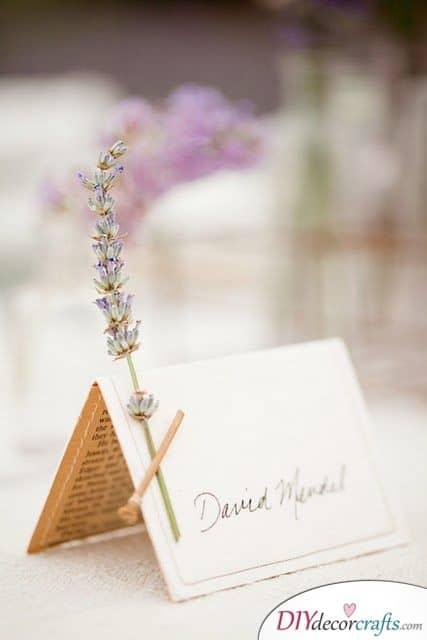 Pretty Floral - Wedding Name Cards