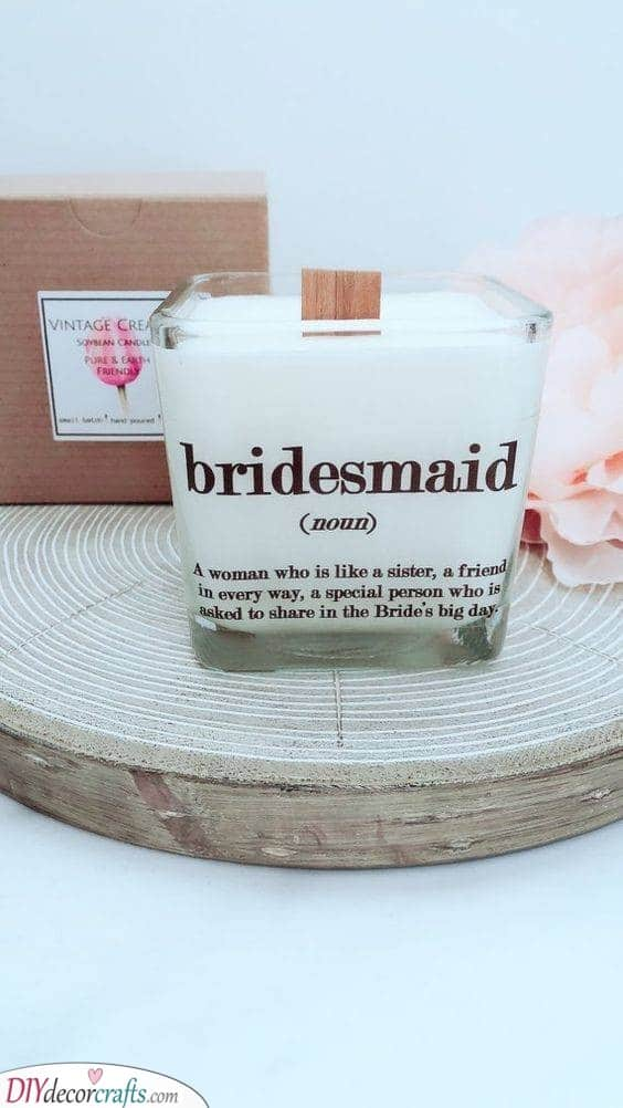 A Definition - Superb Gift Ideas for Your Bridesmaids