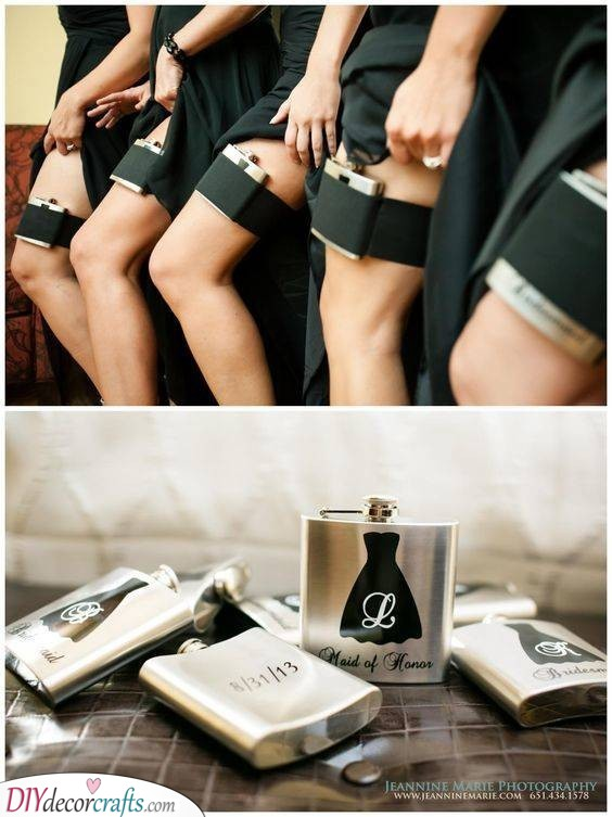 Whiskey Flasks - Fun Gifts for Your Bridesmaids
