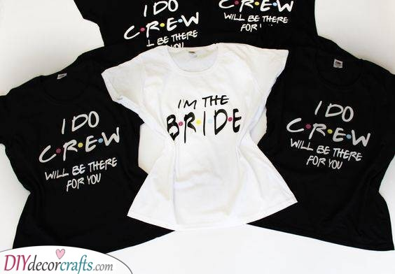 Inspired by Friends - Awesome Gifts for the Bridesmaids