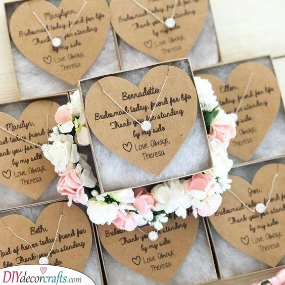 Lovely Necklaces - Great Bridesmaids Gifts