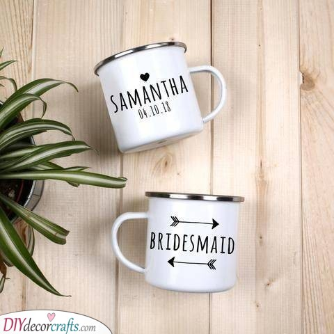 Cute Mugs - Gift Ideas for Your Bridesmaids