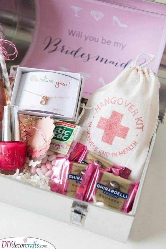 Hangover Kits - Funny Gifts for Your Bridesmaids