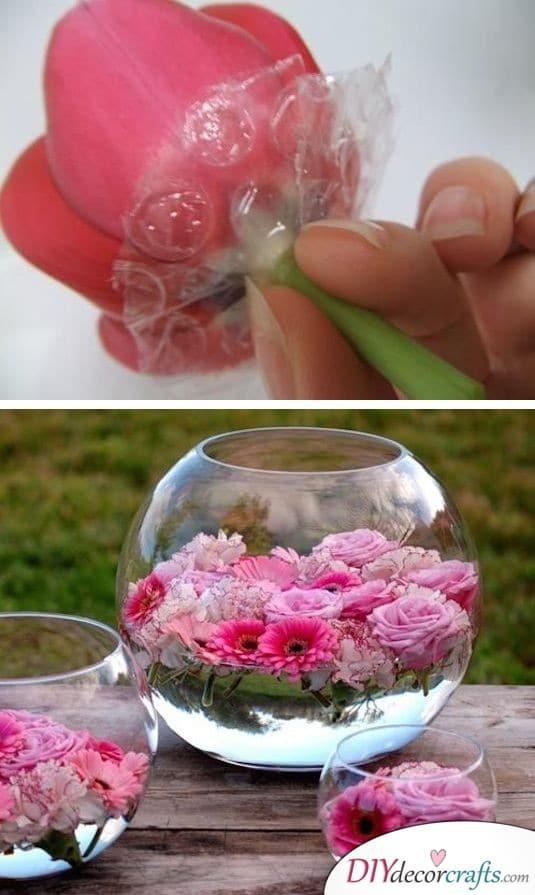 Gorgeous Flower Arrangement - Wedding Decor at it's Best