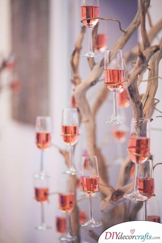 Serve Your Guests Stylishly - An Unusual, but Chic Idea