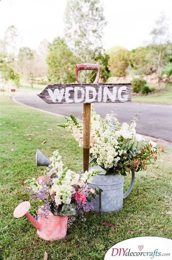 Spring Feeling - DIY Wedding Decorations