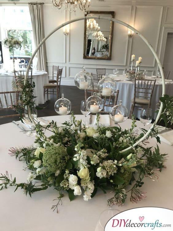 A Stunning Wreath - Perfect Wedding Decor