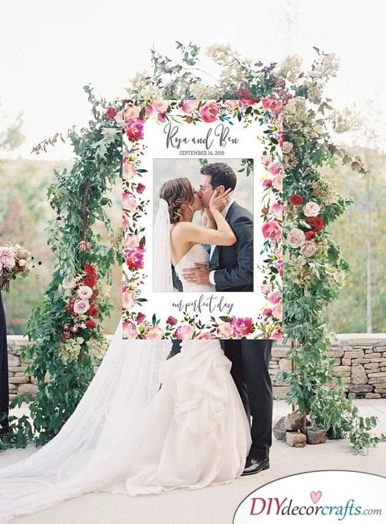 Frame Your Big Day with Romance - Cute and Romantic