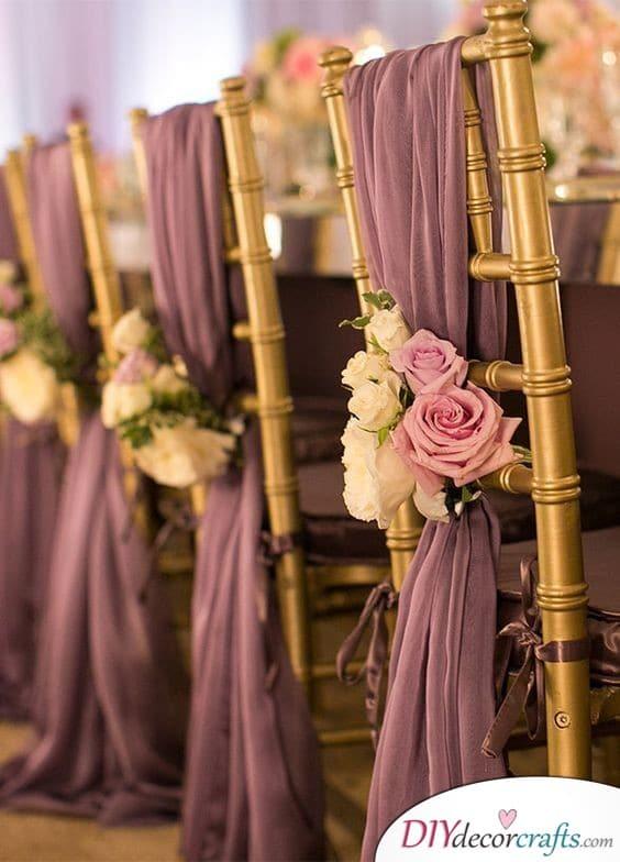 Regal Purple - Wedding Decor Ideas