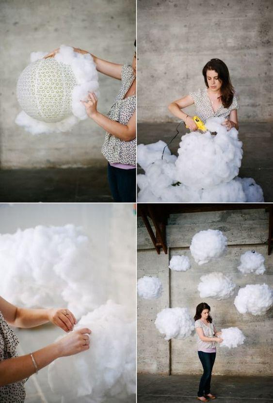 A Heavenly Wedding - Fluffy Clouds