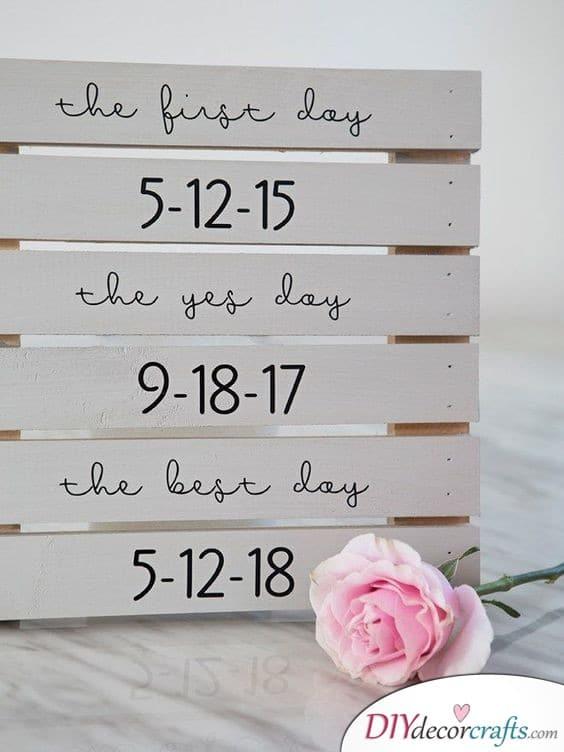 Wedding Signs - Outdoor Wedding Decorations