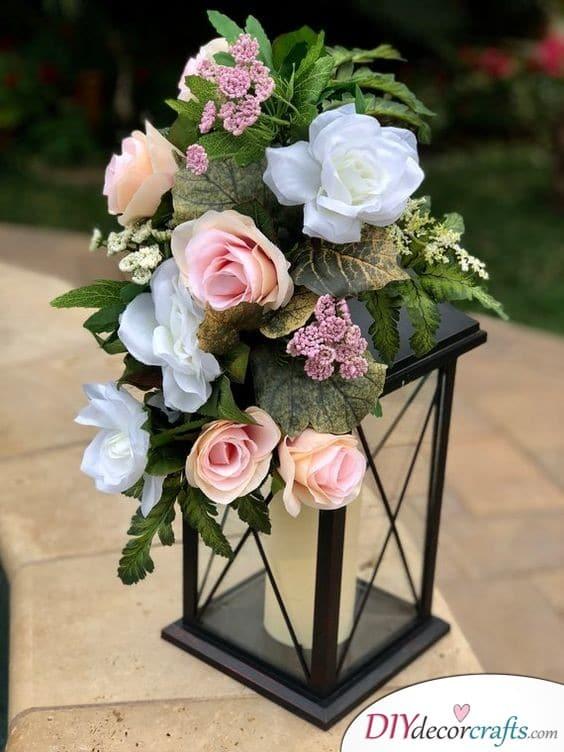 Floral Lanterns - Lighting up Your Wedding