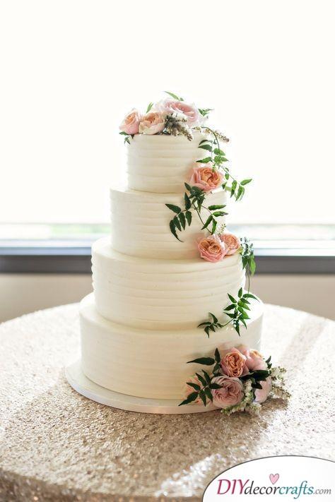 Rustic Feeling - Beautiful Wedding Cake Ideas