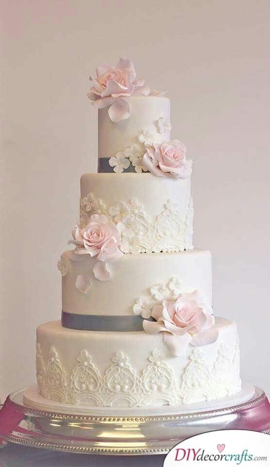Fancy Decor - Wedding Cake Decorations