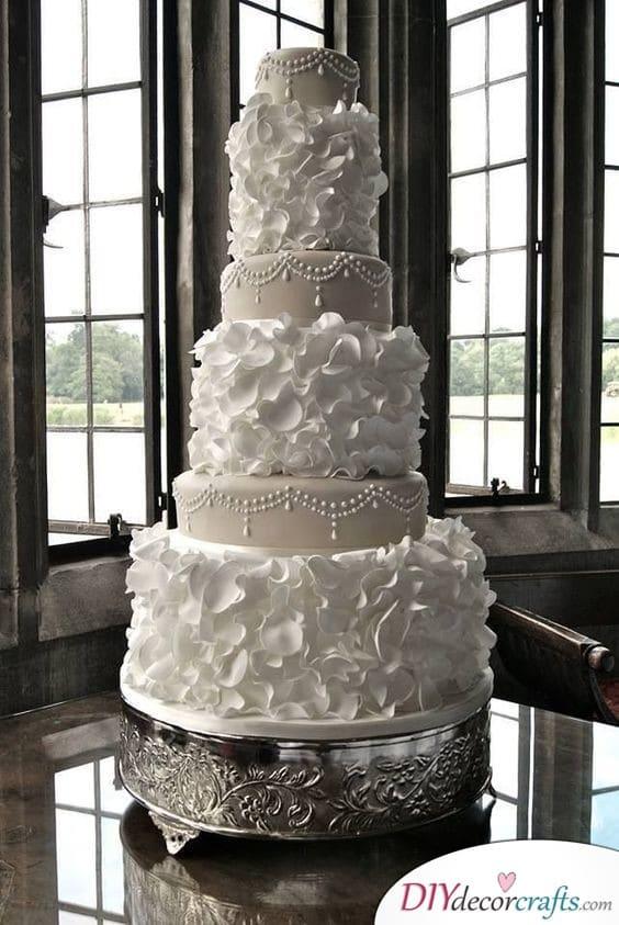 Sophisticated Look - Elegant Wedding Cake Ideas