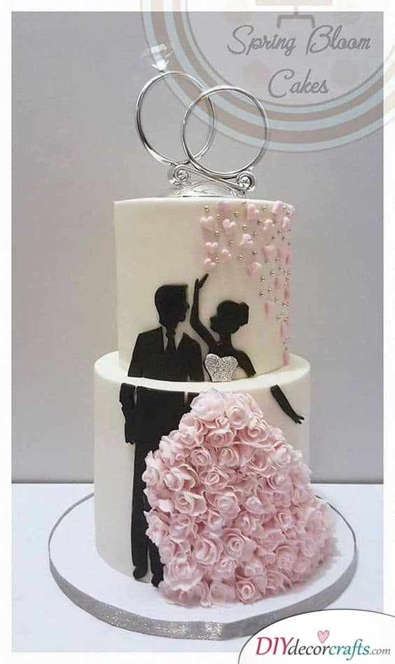 Wedding Rings - Top Off the Cake with This Idea
