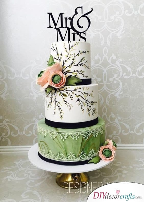 Eclectic Cake - Wedding Cake Decorations