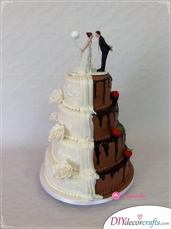 A Compromise - Funny Ideas for Your Cake