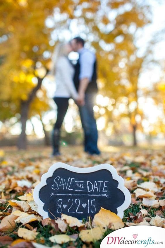 Beautiful and Simple - Great Save the Date Card Ideas