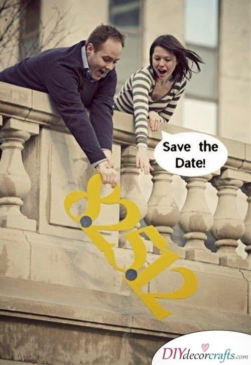Inventive Idea - Save the Date Card Ideas
