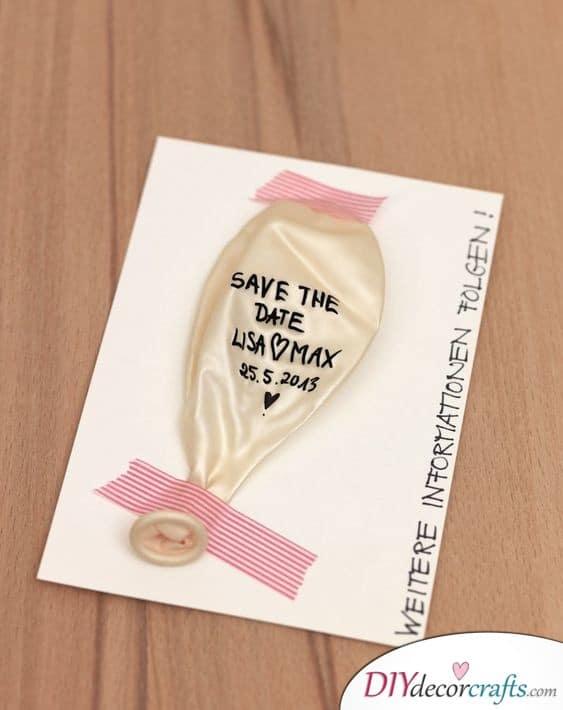 A Cute Card - Great Save the Date Card Ideas