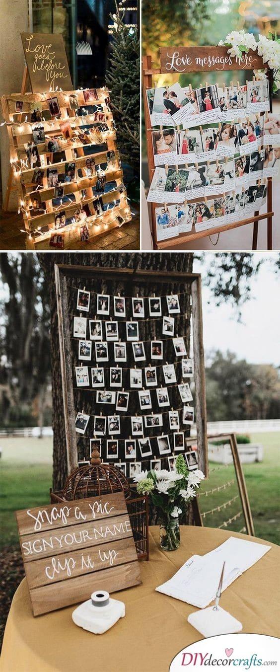 Polaroids Strung Up - A Collection of Photos