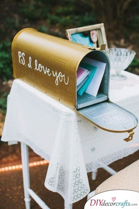 Post Boxes - Wedding Guest Book Alternatives