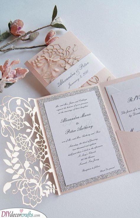 Openable Invitations - Personalised Wedding Invitations