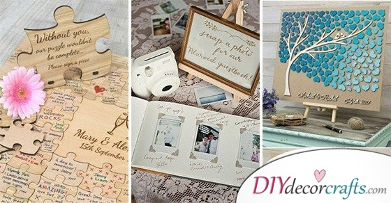 30 AMAZING WEDDING GUEST BOOK IDEAS – With Some Wedding Guest Book Alternatives