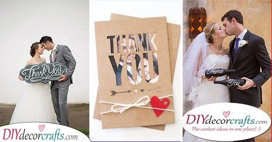 30 PERSONALISED WEDDING THANK YOU CARDS - The Best Photo Wedding Thank You Cards
