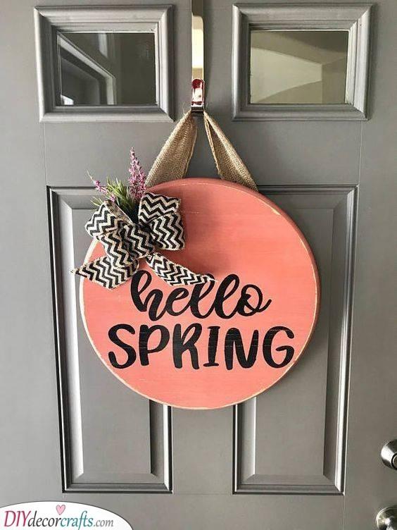 Spring Door Hangers Simple