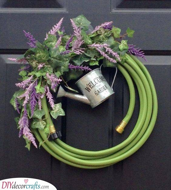 Time to Garden Again - Spring Wreaths for Front Door