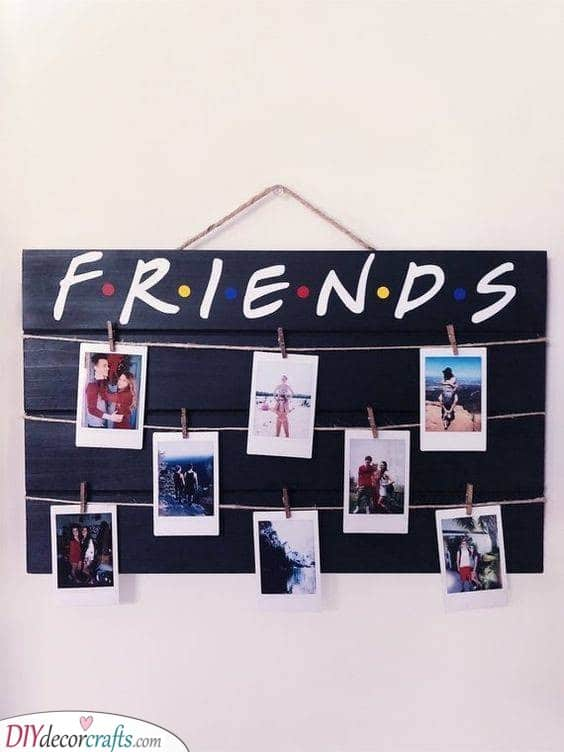 Best Friends - A Board Full of Pictures