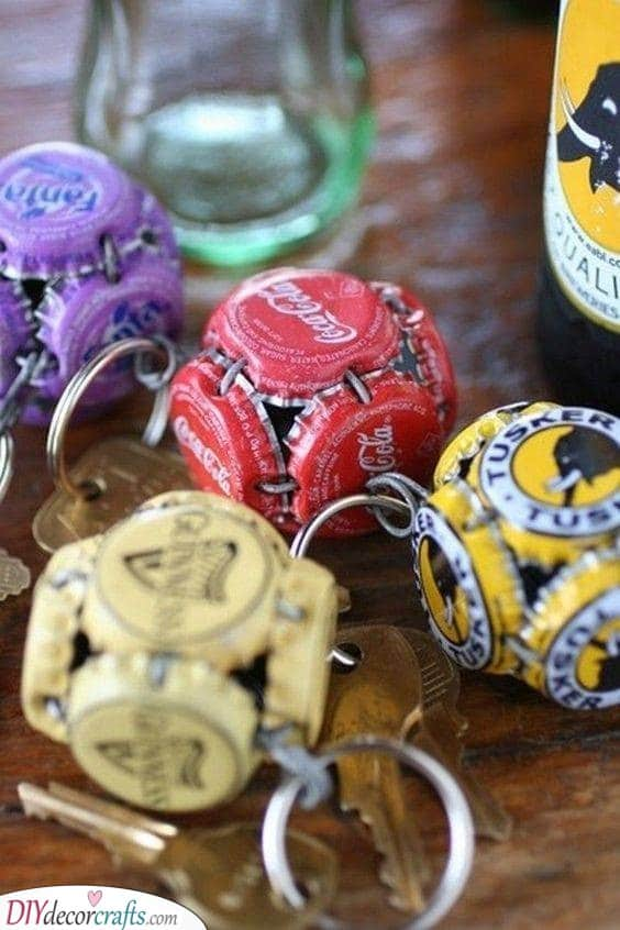 Bottle Cap Crafts - Awesome Gift Ideas for Boyfriends