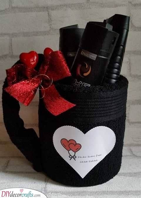A Fuzzy Gift Basket - Unique Gifts for Boyfriends