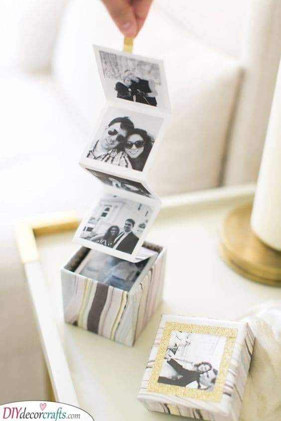 A Box of Photos - Gifts Ideas for Boyfriends