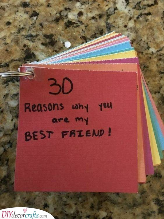 A Tonne of Reasons - Thoughtful and Heartwarming Gifts