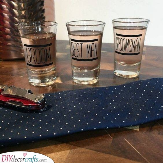 Shot Glasses - Fantastic Gift Ideas for the Groomsmen